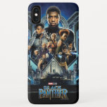 Black Panther | Characters Over Wakanda iPhone XS Max Case