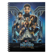 Black Panther | Characters Over Wakanda Notebook