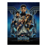 Black Panther | Characters Over Wakanda Poster
