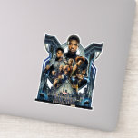 Black Panther | Characters Over Wakanda Sticker