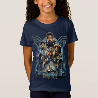 Black Panther | Characters Over Wakanda T-Shirt