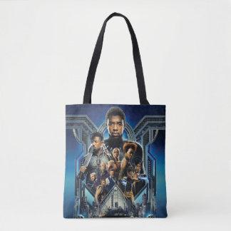 Black Panther | Characters Over Wakanda Tote Bag