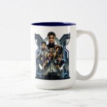 Black Panther | Characters Over Wakanda Two-Tone Coffee Mug