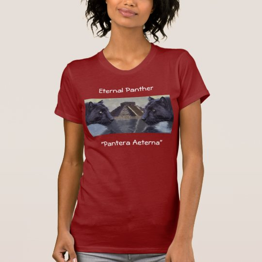 Black Panther Chichen Itza Mexico Collection T-Shirt