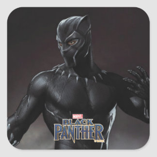 Black Panther | Claws Out Square Sticker