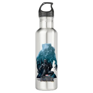Black Panther | Claws Out Water Bottle