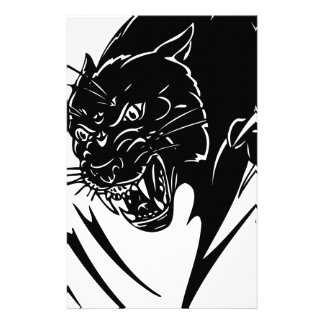 Black Panther Customized Stationery