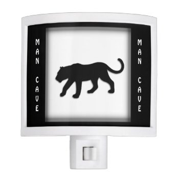 Black Panther Design Man Cave Night Light