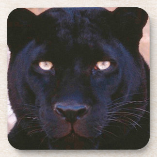 Black Panther Drink Coaster