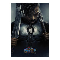 Black Panther | Erik Killmonger Character Poster