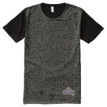 Black Panther | Erik Killmonger Panther Pattern All-Over-Print Shirt