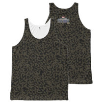 Black Panther | Erik Killmonger Panther Pattern All-Over-Print Tank Top