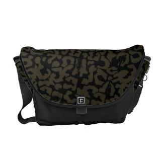 Black Panther | Erik Killmonger Panther Pattern Messenger Bag