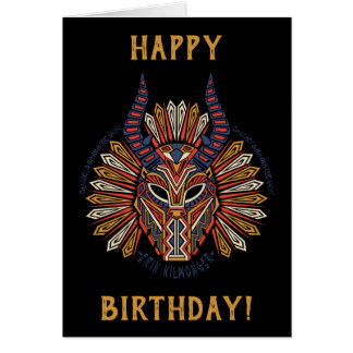 Black Panther | Erik Killmonger Tribal Mask Icon Card