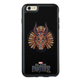 Black Panther   Erik Killmonger Tribal Mask Icon OtterBox iPhone 6/6s Plus Case