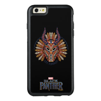 Black Panther | Erik Killmonger Tribal Mask Icon OtterBox iPhone 6/6s Plus Case