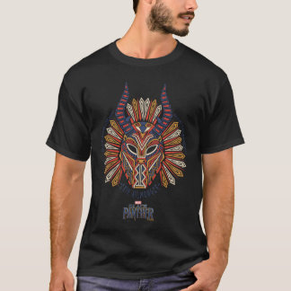Black Panther | Erik Killmonger Tribal Mask Icon T-Shirt