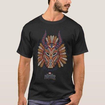 blackpanther Black Panther | Erik Killmonger Tribal Mask Icon T-Shirt