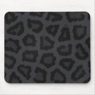 Black Panther Fur Print Mouse Pad