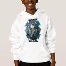 Black Panther | Geometric Character Pattern Hoodie