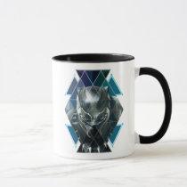 Black Panther | Geometric Character Pattern Mug