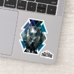 Black Panther | Geometric Character Pattern Sticker