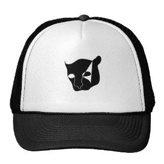 black panther head trucker hat