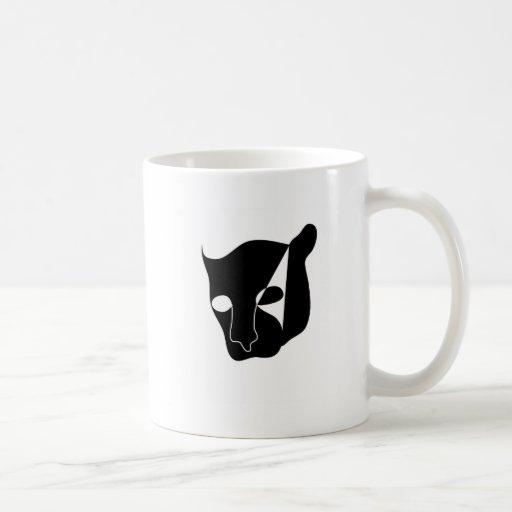 black panther head mugs