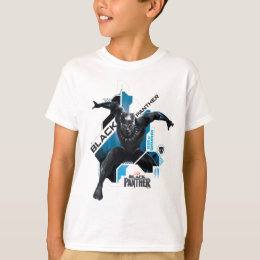 Black Panther | High-Tech Character Graphic T-Shirt