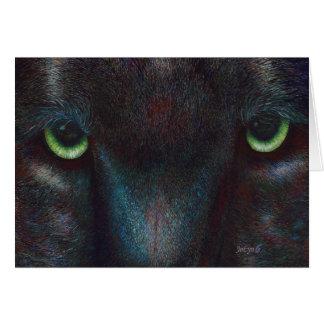 """Black Panther """"Hyptnotist"""" Card"""