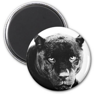 Black Panther Jaguar Magnet