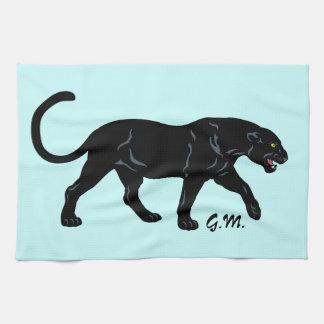 black panther kitchen towel