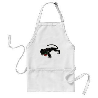 Black Panther - Large CAT Adult Apron