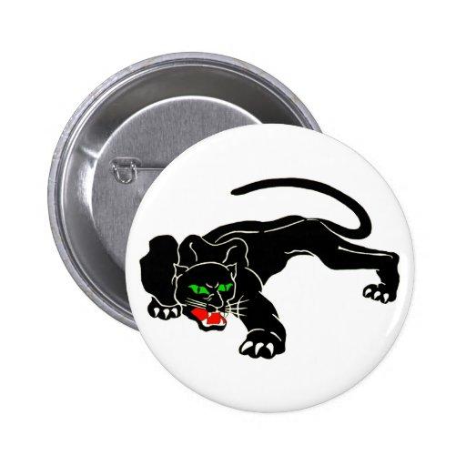 Black Panther - Large CAT Pinback Button