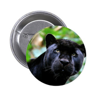 Black Panther Macro 2 Inch Round Button