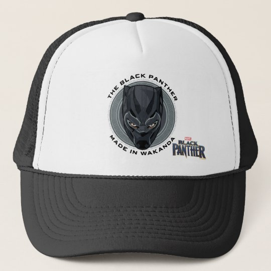b92db0b7aec ... discount black panther made in wakanda trucker hat 456dd 89fa6