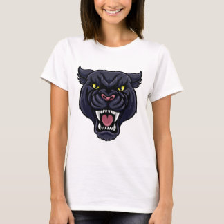 Black Panther Mascot T-Shirt