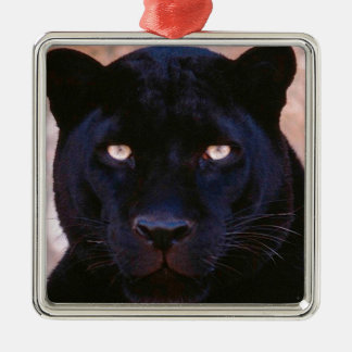 Black Panther Metal Ornament