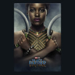"Black Panther | Nakia Character Poster<br><div class=""desc"">Featuring Lupita Nyong&#39;o as Nakia 