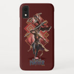 Black Panther | Nakia & Okoye Wakandan Graphic iPhone XR Case