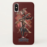 Black Panther | Nakia & Okoye Wakandan Graphic iPhone XS Case