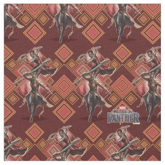 Black Panther | Nakia & Okoye Wakandan Graphic Fabric