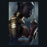 "Black Panther | Okoye Character Poster<br><div class=""desc"">Featuring Danai Gurira as Okoye 