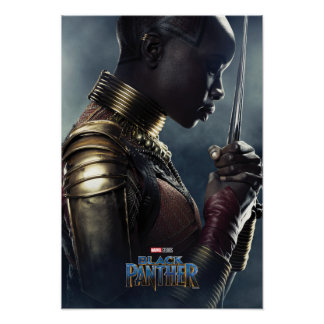 Black Panther | Okoye Character Poster