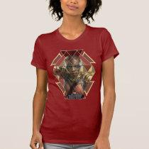 Black Panther | Okoye Geometric Panel T-Shirt