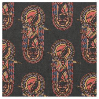 Black Panther | Okoye & Nakia Wakandan Panel Fabric