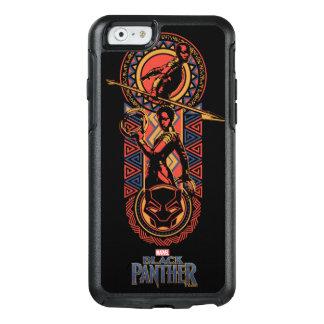 Black Panther   Okoye & Nakia Wakandan Panel OtterBox iPhone 6/6s Case