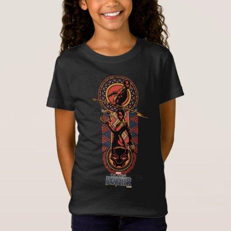 Black Panther | Okoye & Nakia Wakandan Panel T-Shirt