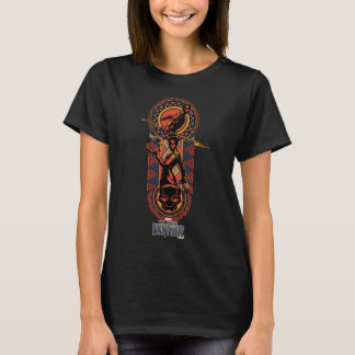 Black Panther | Okoye & Nakia Wakandan Panel T-Shirt