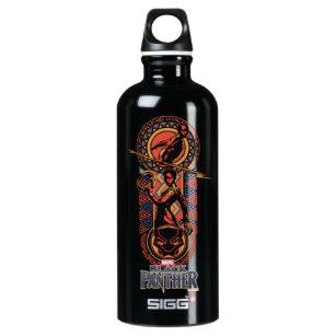 c41d9dd722 Black Panther | Okoye & Nakia Wakandan Panel Water Bottle